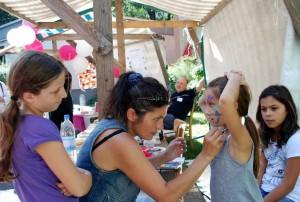 Sommerfest 2010_Kinderschminken_M. Becker