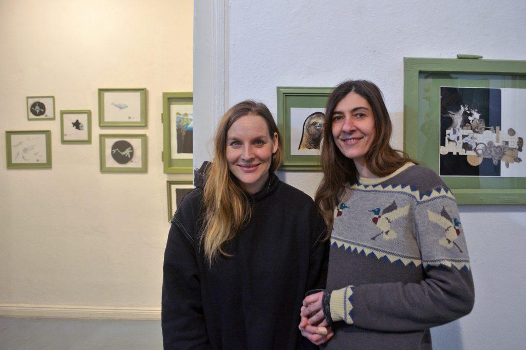 Vanessa Karré und Judith Holofernes